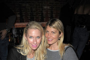 Mary Snow (L) and Meredith Ostrom attend FISHBOWL grand opening party at Dream Midtown on February 1, 2017 in New York City.