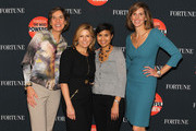 (L-R) Pattie Sellers, Nina Easton, Stephanie Mehta and Leigh Gallagher attend the FORTUNE Most Powerful Women Summit on October 17, 2013 in Washington, DC.