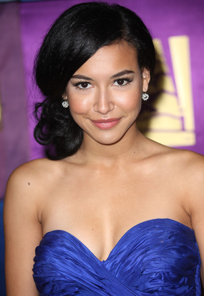 Naya Rivera Actress Naya Rivera arrives at the FOX 2010 Golden Globes Party
