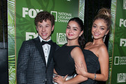 (L-R) Sarah Hyland, Nolan Gould and Ariel Winter arrive at FOX, 20th Century FOX Television, FX Networks And National Geographic Channel's 2014 Emmy Award Nominee Celebration at Vibiana on August 25, 2014 in Los Angeles, California.