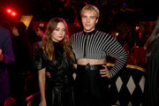 """(L-R) Billie Lourd and Cody Fern attends FX's """"American Horror Story"""" 100th Episode Celebration at Hollywood Forever on October 26, 2019 in Hollywood, California."""