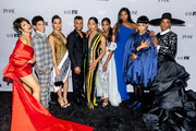 """(L-R) Hailie Sahar, Angel Bismark Curiel, Indya Moore, Dyllón Burnside, Mj Rodriguez, Angelica Ross, Dominique Jackson, Ryan Jamaal Swain, and Billy Porter attend the FX Network's """"Pose"""" Season 2 Premiere on June 05, 2019 in New York City."""