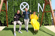 Actor Dan Stevens, writer Noah Hawley and actress  Rachel Keller attend FX Networks' FXHibition during 2017 San Diego Comic Con at  Hilton Bayfront  on July 21, 2017 in San Diego, California.