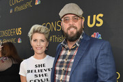 """Rachel Reichard and Chris Sullivan attend FYC Panel Event for 20th Century Fox and NBC's """"This Is Us"""" at Paramount Studios on August 14, 2017 in Hollywood, California."""