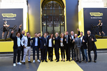 Fabio Cannavaro Technogym - The Listing Ceremony