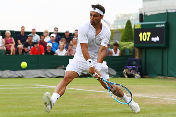 Fabio Fognini Day Four: The Championships - Wimbledon 2018
