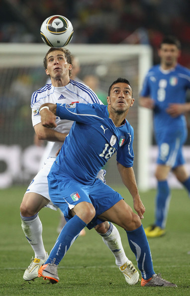 Slovakia v Italy: Group F - 2010 FIFA World Cup []