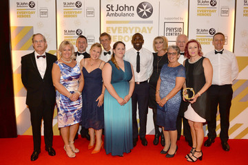 Fabrice Muamba St John Ambulance's Everyday Heroes Awards