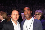 Anthony Costa and Simon Webbe at the inaugural Facebook Football Awards on May 26, 2015 in London, England.