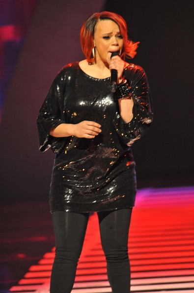 Faith Evans Recording Artist Faith Evans performs at the 2010 Soul Train