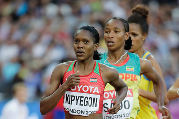 Faith Chepngetich Kipyegon 16th IAAF World Athletics Championships London 2017 - Day One