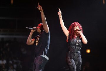 Faith Evans Puff Daddy and Bad Boy Family Reunion Tour Opening Night