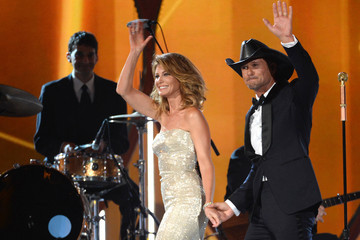 Faith Hill 49th Annual Academy of Country Music Awards Show