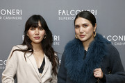 Natalie Suarez and Dylana Suarez attend as Falconeri launches in the US with store opening at 101 Prince Street on October 16, 2019 in New York City.