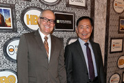 Actor George Takei (R) and husband Brad Altman attend Family Equality Council's annual Los Angeles awards dinner at The Globe Theatre on February 8, 2014 in Universal City, California.