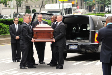Lena Horne Family And Friends Attend Services For Entertainer Lena Horne