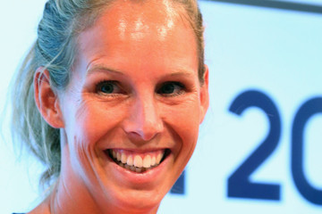 Fanny Rinne adidas Olympic Media Lounge At Westfield