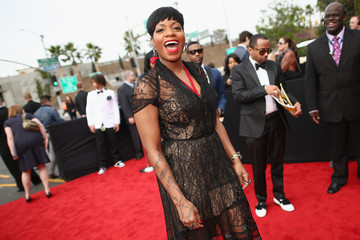 Fantasia Barrino Arrivals at the Grammy Awards — Part 2