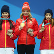 Fanyu Kong Medal Ceremony - Winter Olympics Day 8