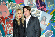 Rachel Zoe (L) and Rodger Berman at Farfetch and William Vintage Celebrate Gianni Versace Archive hosted by Elizabeth Stewart and William Banks-Blaney on October 5, 2017 in Los Angeles, California.