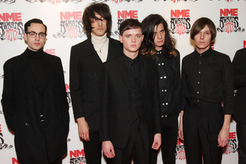 Faris Badwan NME Awards 2012 - Inside Arrivals