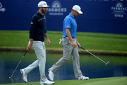Dustin Johnson Gary Woodland Photos Photo