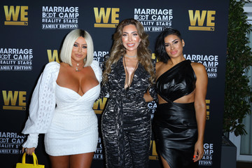 Farrah Abraham WE Tv Celebrates The Premiere Of 'Marriage Boot Camp'