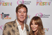 Dr. Lawrence Piro (L) and Jaclyn Smith attend the Farrah Fawcett Foundation's Tex-Mex Fiesta on September 06, 2019 in Los Angeles, California.