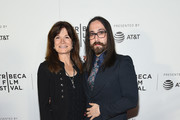 "Carolyn Porco and Sean Lennon attend  ""The Farthest"" Premiere during the 2017 Tribeca Film Festival at Regal Cinema Battery Park on April 20, 2017 in New York City."