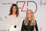 Sara Cavazza Facchini (L) and goodwill ambassador Franca Sozzani attend the Fashion 4 Development's 5th annual Official First Ladies luncheon at The Pierre Hotel on September 28, 2015 in New York City.