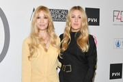 Fashion 4 Development Founder Evie Evangelou and Ellie Goulding attend Fashion 4 Development's 8th Annual Official First Ladies Luncheon at The Pierre Hotel on September 25, 2018 in New York City.