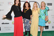 Claudia Edelman, Diane Von Furstenberg, Fashion 4 Development Founder Evie Evangelou, and HRH Princess Camilla of Bourbon attend Fashion 4 Development's 8th Annual Official First Ladies Luncheon at The Pierre Hotel on September 25, 2018 in New York City.