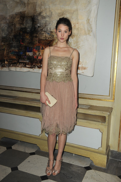 Astrid Berges Frisbey Astrid Berges-Frisbey attends Fashion Dinner For AIDS at Pavillon d'Armenonville on January 28, 2010 in Paris, France.