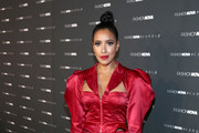 Julissa Bermudez arrives as Fashion Nova Presents: Party With Cardi at Hollywood Palladium on May 8, 2019 in Los Angeles, California.