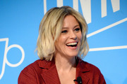 "Elizabeth Banks speaks on stage at the ""Perfect Pitch: Elizabeth Banks on Hollywood, Feminism and Writing Her Own Script"" panel at the Fast Company Innovation Festival - Day 2 on November 06, 2019 in New York City."