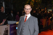 "Mark Gatiss attends the UK Premiere of ""The Favourite"" & American Express Gala at the 62nd BFI London Film Festival on October 18, 2018 in London, England."