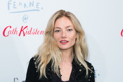 Clara Paget attends a Cath Kidston product launch event on October 25, 2018 in London, England.