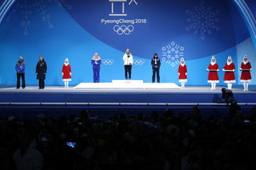 Federica Brignone Medal Ceremony - Winter Olympics Day 6