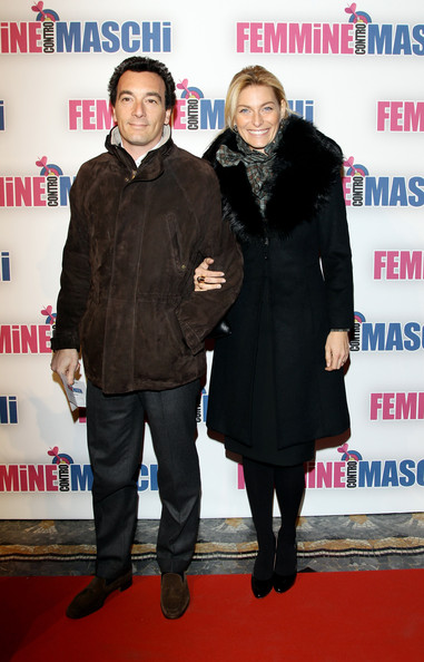 Federica Fontana and husband Felice Rusconi