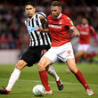 Federico Fernandez Nottingham Forest vs. Newcastle United - Carabao Cup Second Round
