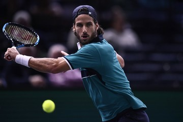 Feliciano Lopez Rolex Paris Masters - Day Two