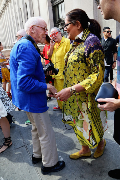 Seen Around Spring 2016 New York Fashion Week: The Shows - Day 4 []