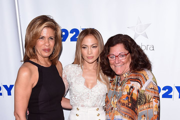 Fern Mallis 92nd Street Y Presents: Jennifer Lopez In Conversation With Hoda Kotb