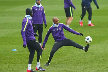 Fernandinho Manchester City Training Session