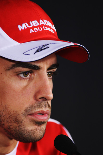 Fernando Alonso Fernando Alonso of Spain and Ferrari attends the drivers press conference during previews to the Italian Formula One Grand Prix at the Autodromo Nazionale di Monza on September 9, 2010 in Monza, Italy.