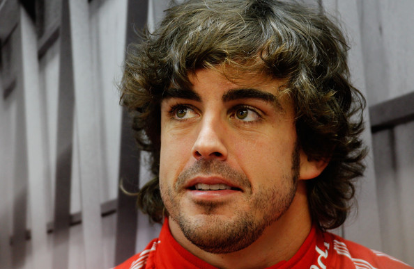 Fernando Alonso Fernando Alonso of Spain and Ferrari prepares to drive during the final practice session prior to qualifying for the Singapore Formula One Grand Prix at the Marina Bay Street Circuit on September 24, 2011 in Singapore.