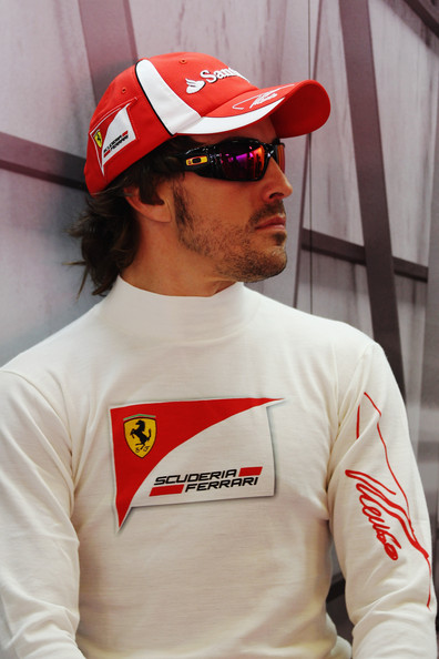 Fernando Alonso Fernando Alonso of Spain and Ferrari prepares to drive during practice for the Spanish Formula One Grand Prix at the Circuit de Catalunya on May 20, 2011 in Barcelona, Spain.