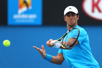 Fernando Verdasco 2014 Australian Open - Day 6