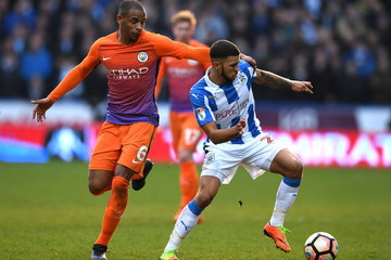 Fernando Huddersfield Town v Manchester City - The Emirates FA Cup Fifth Round