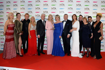 Ferne McCann National Television Awards - Winners Room
